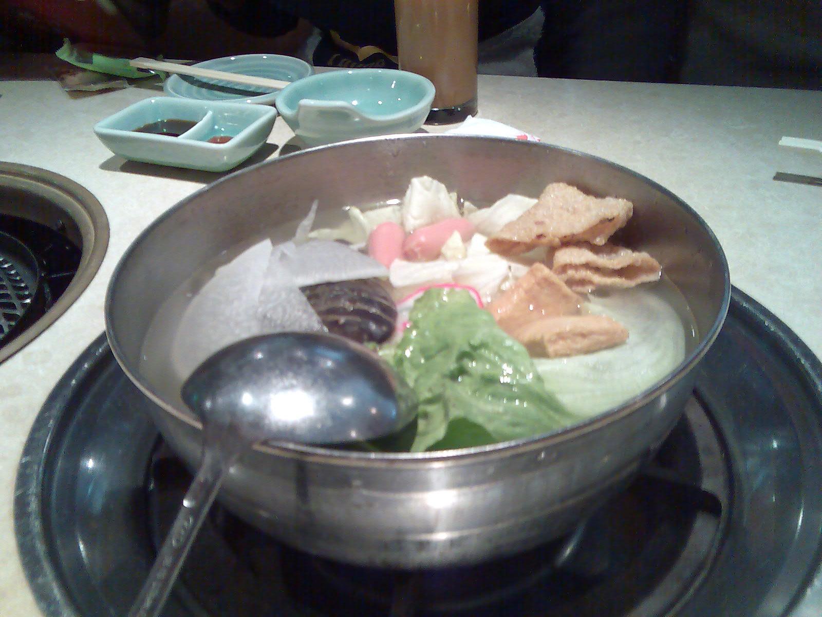 剛端上來的鍋鍋