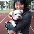 你是我第一次抱的狗耶