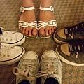 鞋子還滿髒的 該洗了
