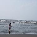 很跳躍的奔向大海