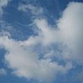 藍藍的天 白白的雲