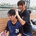 美香~ 妳頭髮真的很多!