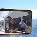 船的後照鏡