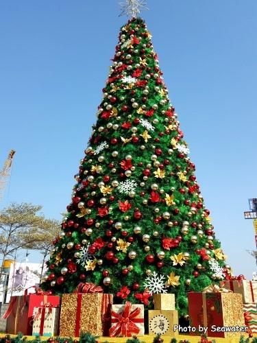 新竹東門城聖誕樹