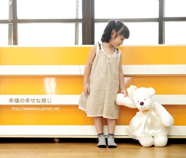 襪娃娃大白熊-熊幸福-白8s