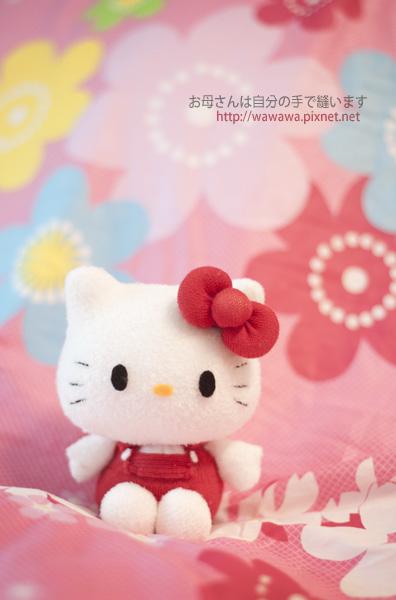咩醬的kitty襪娃娃