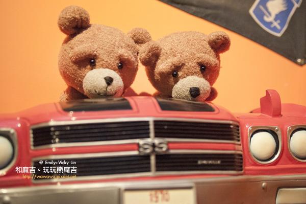襪娃熊麻吉-搭車篇1
