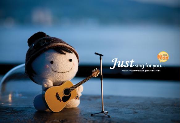 吉他襪娃娃