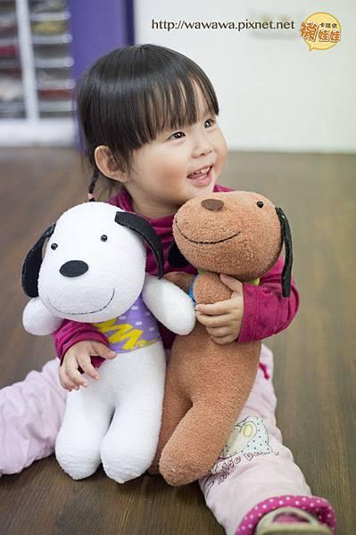 我愛抱抱Happy狗襪娃和咩醬2