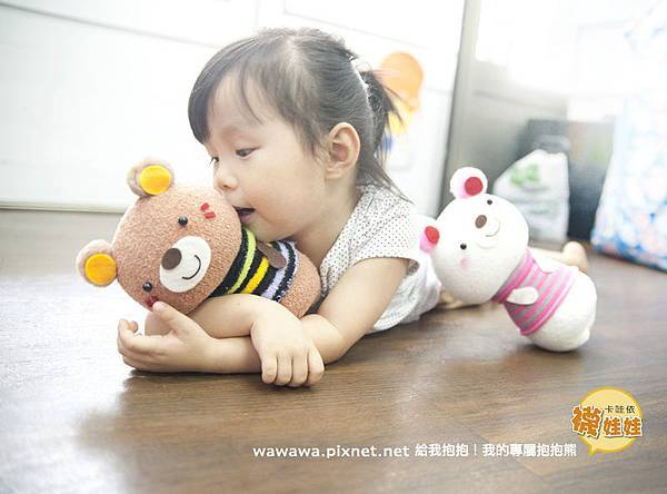 抱抱熊卡哇依襪娃娃-2