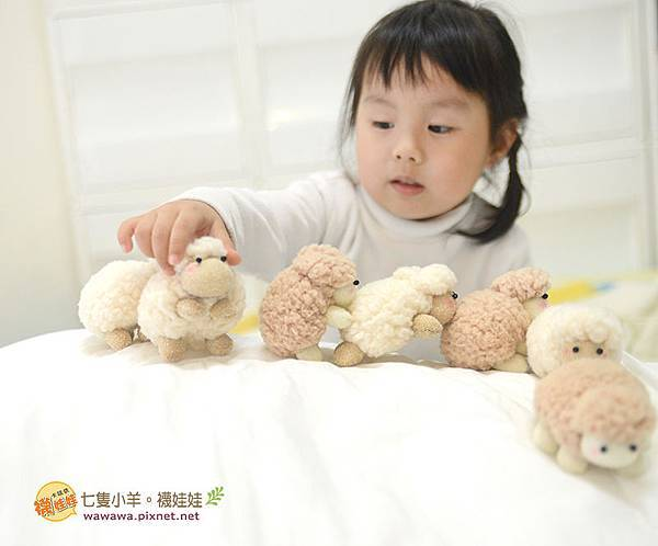七隻小羊襪娃娃羊咩咩襪子娃娃Emily楊慧淳子寬diy材料包課程邀約.7
