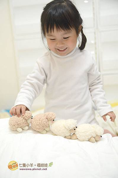 七隻小羊襪娃娃羊咩咩襪子娃娃Emily楊慧淳子寬diy材料包課程邀約.6