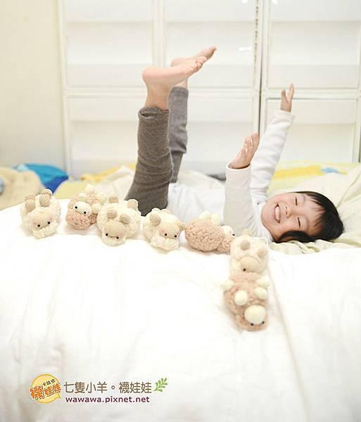 七隻小羊襪娃娃羊咩咩襪子娃娃Emily楊慧淳子寬diy材料包課程邀約.10