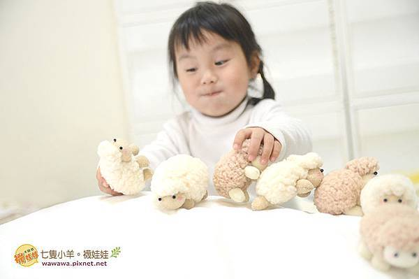 七隻小羊襪娃娃羊咩咩襪子娃娃Emily楊慧淳子寬diy材料包課程邀約.8