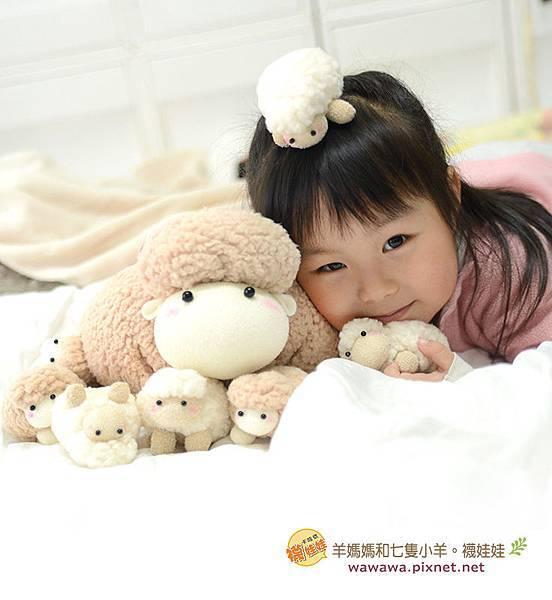 羊媽媽和七隻小羊襪娃娃羊咩咩襪子娃娃Emily楊慧淳子寬diy材料包課程邀約.2