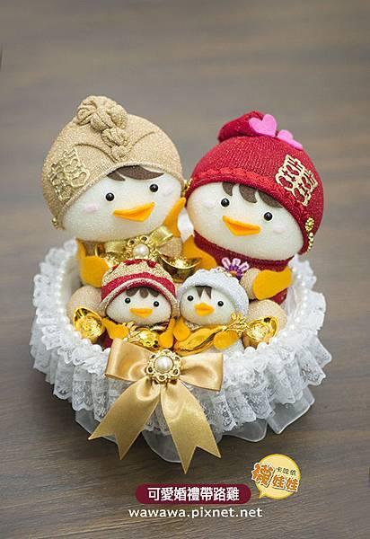 2016婚禮帶路雞襪娃娃西式禮籃套組1.jpg