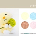 甜蜜雪綿兔襪娃娃黃色RGBs