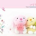 甜蜜雪綿兔襪娃娃RGBs