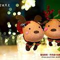 聖誕麋鹿襪娃娃閃閃星光小夜燈03好時光玩手作.s