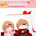甜蜜婚禮祝福安床娃娃贈禮禮盒組2