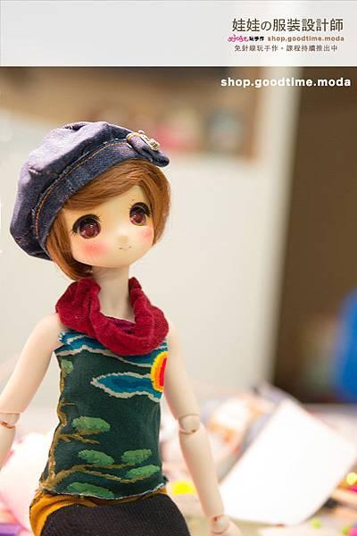 好時光玩手作娃娃的服裝設計師帽子.2