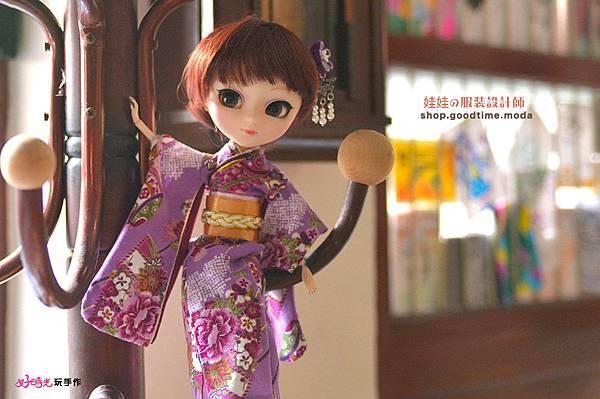 娃娃的服裝設計師小小服裝設計師日式和服穿搭好時光玩手作