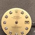 (2) ROLEX  保養前 正面 面盤.JPG