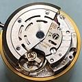 (38) ROLEX 組裝 自動模組上機芯 背面完成.JPG