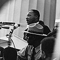 馬丁路德金在華盛頓林肯紀念堂演講《我有一個夢》