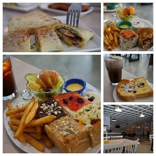 六吋盤早午餐 - 超大用餐空間,多種類餐點,屏東早午餐介紹