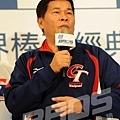世界棒球經典賽台灣區資格賽宣告記者會回顧23 澎哥說夢想是去大聯盟投球
