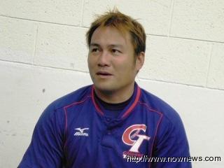 20121112 鄭達鴻被認為和泰國隊球星Damon有點神似(圖/記者李玟)
