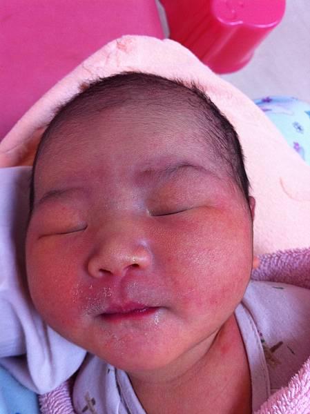 在林新醫院育嬰室的日子