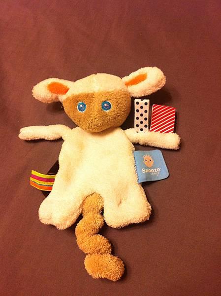 小羊玩偶(可綁奶嘴)