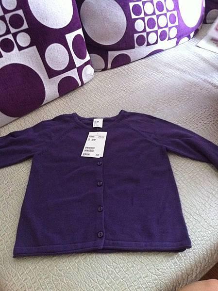 H&M小紫外套