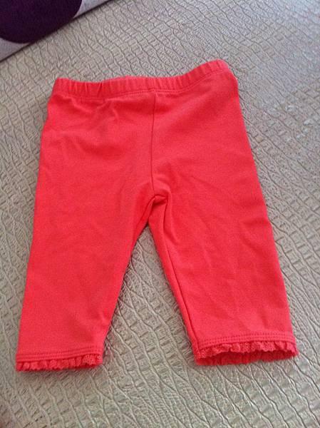 H&M亮色小長褲