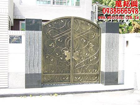 鋁門鍛造門 客製化