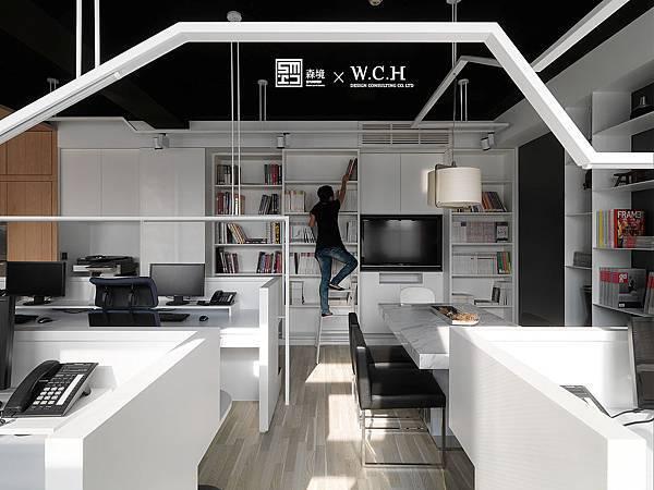 用造房子的方式設計書架
