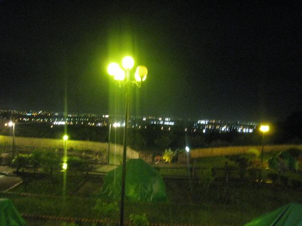 夜晚的台東