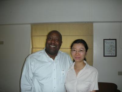 和優莎納(USANA)鑽石董事Mike Ray的合照