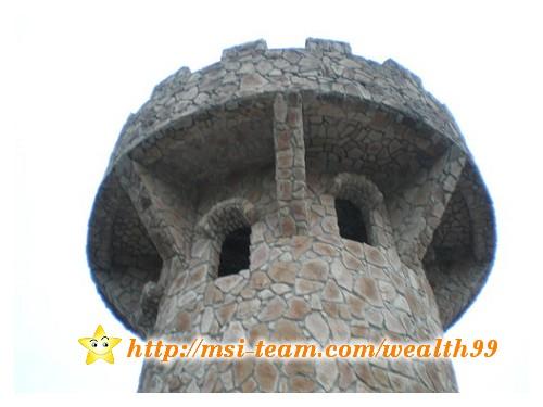 遠望像個「古堡」的瞭望台