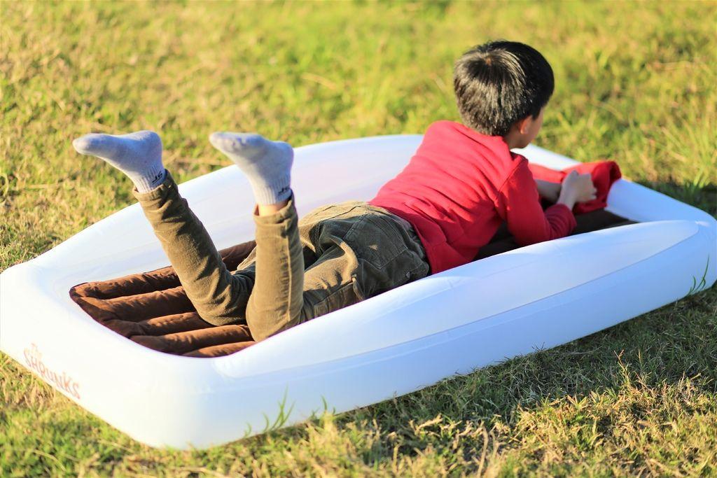 【The Shrunks旅行充氣床】與大自然合而為一的舒適空氣床〈加拿大舒朗可〉