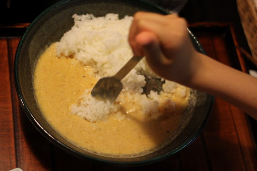 雞肉白咖哩飯