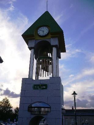 車站前廣場的鐘