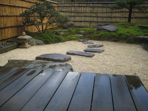 [松風]套房的庭院