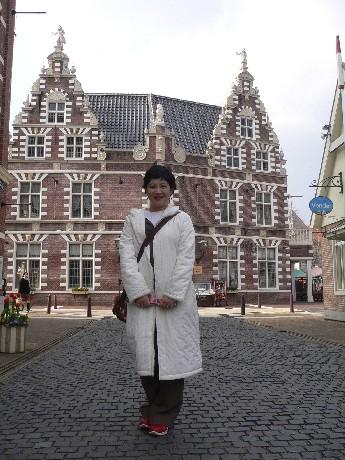 走在街上,真的好像在荷蘭