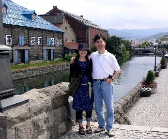 浪漫的小樽運河
