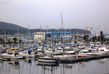 小樽的遊艇港灣