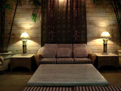 Lobby很溫馨,沒有一般飯店的貴氣