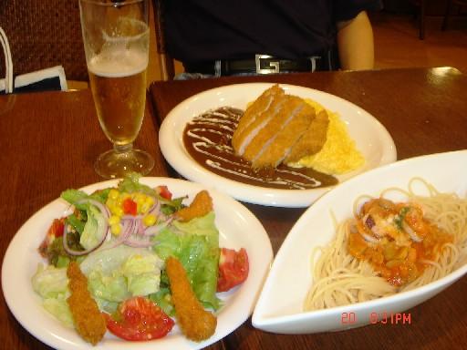 在日本的第一餐飯